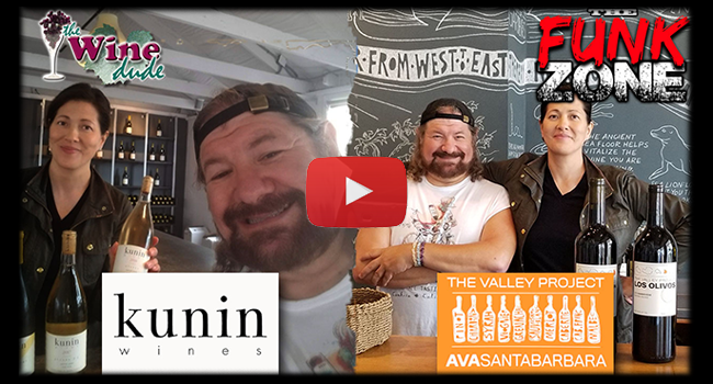 The Funk Zone - Kunin Wines & The Valley Project